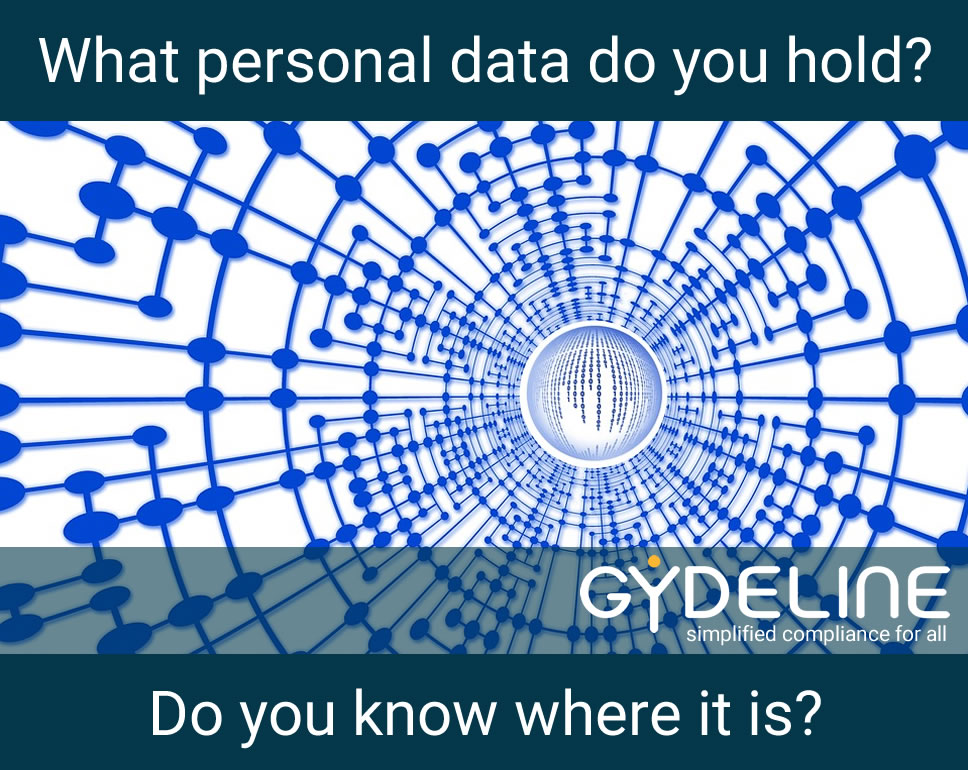 Do you know what personal data you process and where it is?